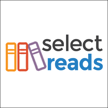 Image: Select Reads logo (links to Select Reads page on NIOGA website)